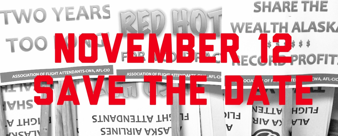 Save The Date for More RED Hot Informational Picketing