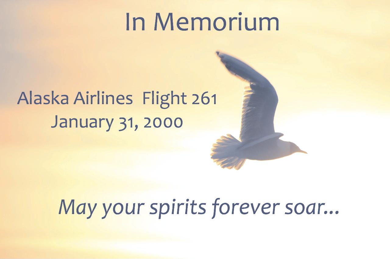In Memorium Alaska Airlines Flight 261